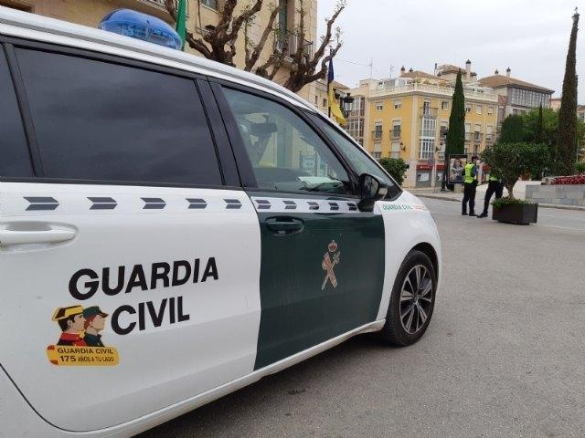 La Guardia Civil detiene al ciudadano que anoche agredi� a un hostelero de Totana, Foto 1