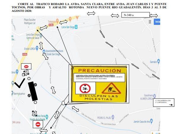 La Policía Local establece normas especiales de circulación entre la Avenida Juan Carlos I y Puente Tocinos los próximos días 3, 4 y 5 de agosto - 1, Foto 1