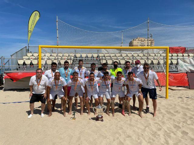 La selección murciana senior de fútbol playa, subcampeona de España en Cádiz - 1, Foto 1