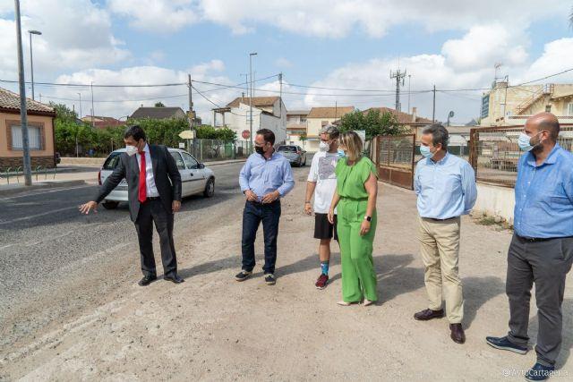 La carretera de El Albujón mejorará su seguridad gracias a una inversión de 180.000 euros - 1, Foto 1