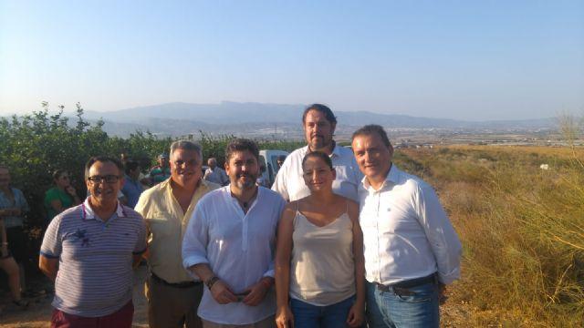 Ciudadanos apoya la llegada de agua para 970 agricultores de tres pedanías totaneras desde la desaladora de Águilas, Foto 1