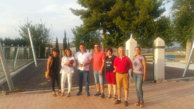 El colegio Pedro Martínez Charcas de Barqueros estrenará