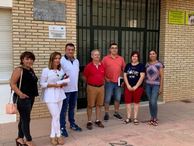 MURCIA/ El colegio Pedro Martínez Charcas de Barqueros