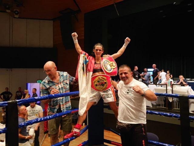 La lumbrerense Mari Carmen Romero se proclama campeona continental de boxeo - 2, Foto 2