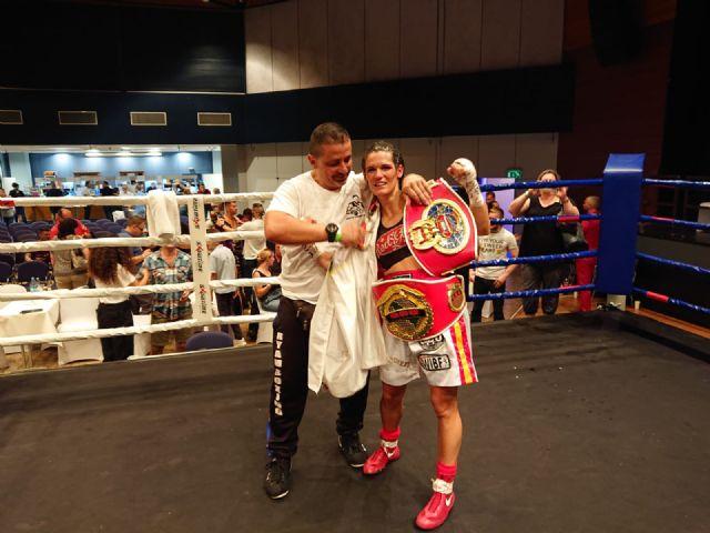 La lumbrerense Mari Carmen Romero se proclama campeona continental de boxeo - 3, Foto 3
