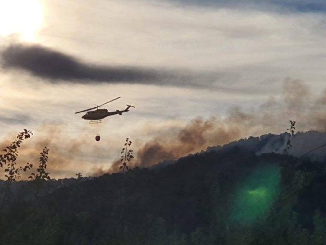 Actualización de datos incendio originado en Los Porriones y que afecta a los municipios de Mula y Bullas - 1, Foto 1