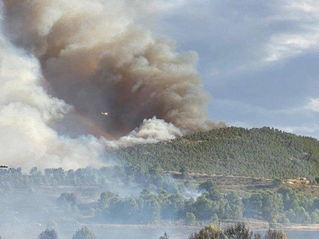 Actualización de datos incendio originado en Los Porriones y que afecta a los municipios de Mula y Bullas - 2, Foto 2