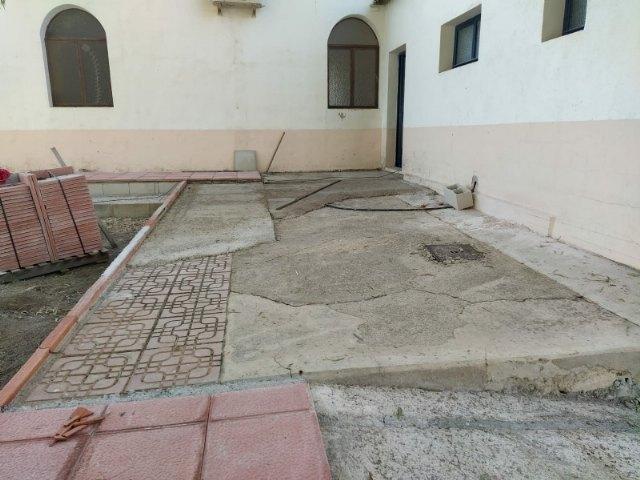 A punto de finalizar las obras para acondicionar la nueva zona recreativa y de barbacoas en La Costera - 1, Foto 1