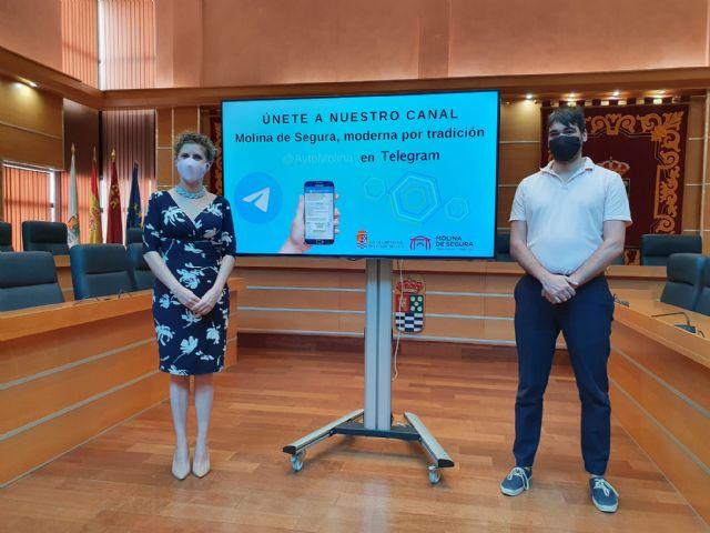 El Ayuntamiento de Molina de Segura se incorpora a la plataforma de mensajería Telegram con el objetivo de mejorar la información a la ciudadanía - 2, Foto 2