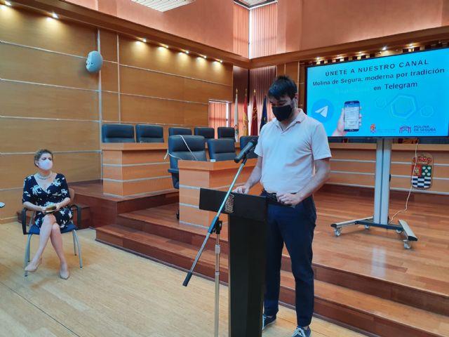 El Ayuntamiento de Molina de Segura se incorpora a la plataforma de mensajería Telegram con el objetivo de mejorar la información a la ciudadanía - 3, Foto 3