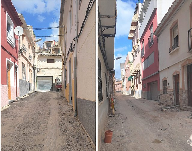 Saorín: El arreglo y mejora de las cuatro calles del barrio de San Joaquín siguen su curso hacia su conclusión - 1, Foto 1