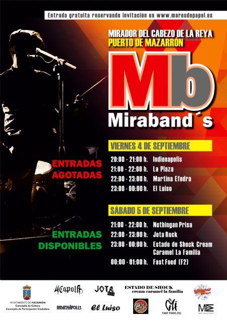 Agotadas las invitaciones del viernes para el festival de grupos locales 'Miraband's' - 1, Foto 1