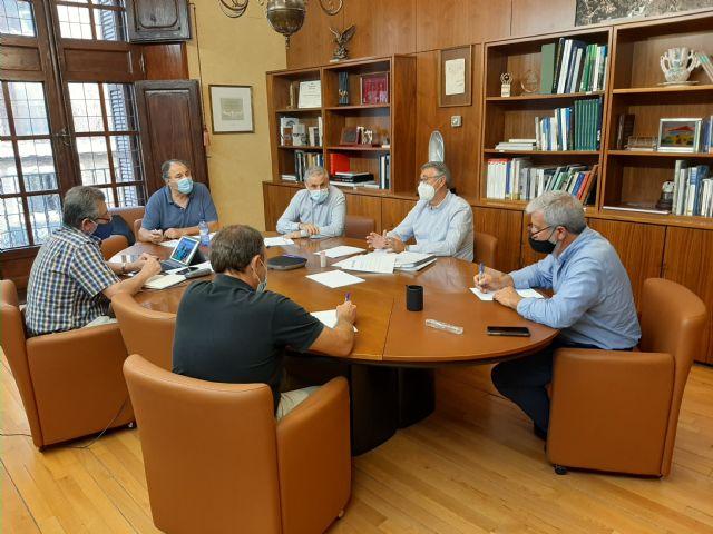 El Presidente de la CHS se reúne con las organizaciones agrarias para examinar la situación del acuífero del campo de Cartagena - 1, Foto 1
