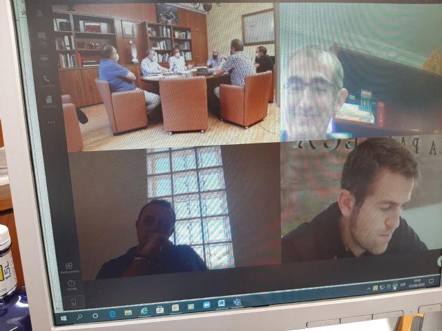 El Presidente de la CHS se reúne con las organizaciones agrarias para examinar la situación del acuífero del campo de Cartagena - 2, Foto 2