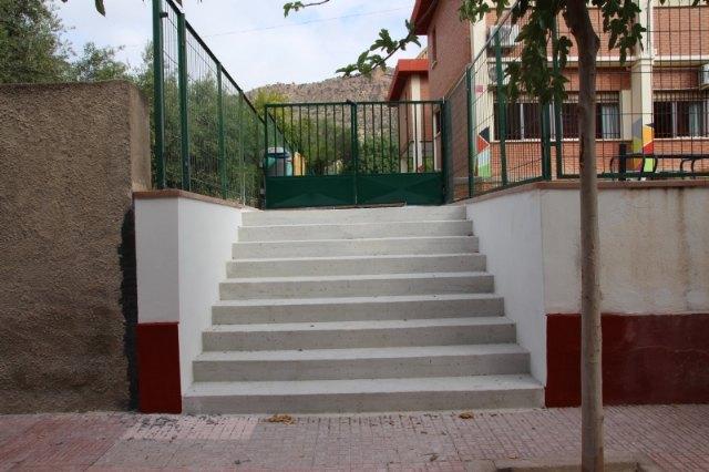 La concejalía de Educación habilita un nuevo acceso en el CEIP Ntra. Sra. del Rosario, Foto 1