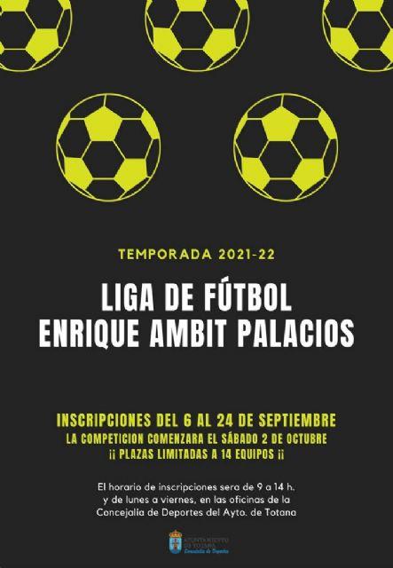 [La Concejalía de Deportes pondrá en marcha la nueva temporada de la Liga de Fútbol