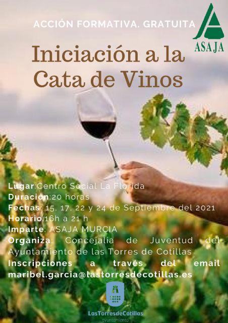 Un curso gratuito en el centro social de La Florida para iniciarse en la cata de vinos - 1, Foto 1