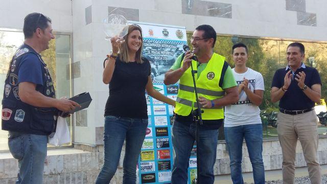 La Alcaldesa recibe a los participantes en la II Concentración Nacional de Policías Motoristas que se desarrolla en Archena - 1, Foto 1