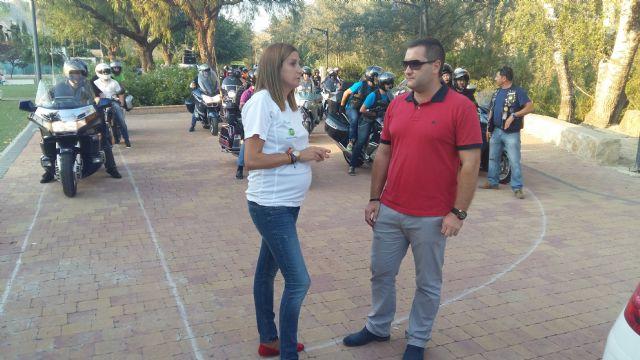 La Alcaldesa recibe a los participantes en la II Concentración Nacional de Policías Motoristas que se desarrolla en Archena - 2, Foto 2