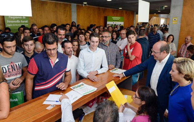 Pedro Antonio Sánchez: 500 jóvenes agricultores toman hoy el relevo en el sector agrario de la Región, Foto 4