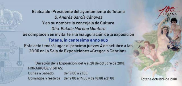 La exposición Totana, in centesimo anno suo, muestra conmemorativa por el Centenario de la Ciudad, se inaugura este jueves, Foto 2