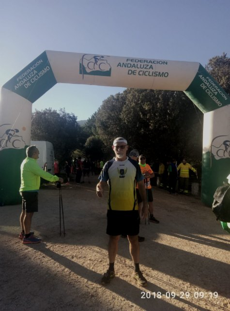 Juan Francisco García of the Totana Athletics Club takes the podium in María's trail - 1