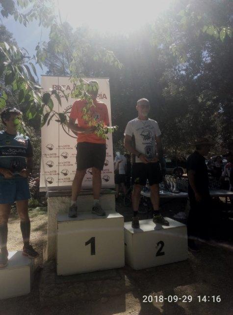 Juan Francisco García del Club Atletismo Totana sube al podium en el trail de María, Foto 2