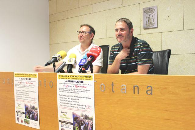 El Club Senderista de Totana comienza el calendario de actividades para la temporada 2019/20 con la XIII Marcha Solidaria que se celebra este domingo 6 de octubre