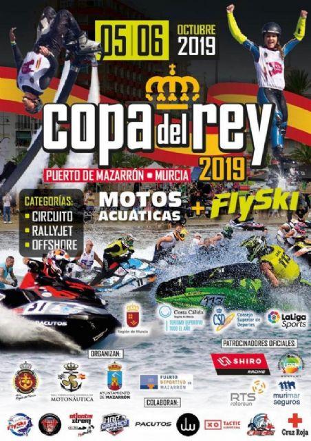 Las motos acuáticas regresan este fin de semana a Mazarrón con una nueva edición de la Copa del Rey, Foto 1