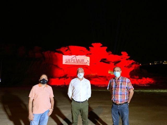 Las erosiones de Bolnuevo se iluminan en rojo por la defensa del sector de los eventos y el espectáculo - 2, Foto 2