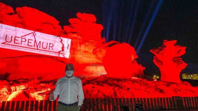 Las erosiones de Bolnuevo se iluminan en rojo por la defensa del sector de los eventos y el espectáculo - 3, Foto 3