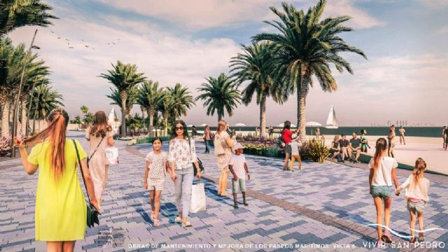 Comienzan la obras de renovación de los paseos marítimos de Villananitos y La Puntica - 1, Foto 1