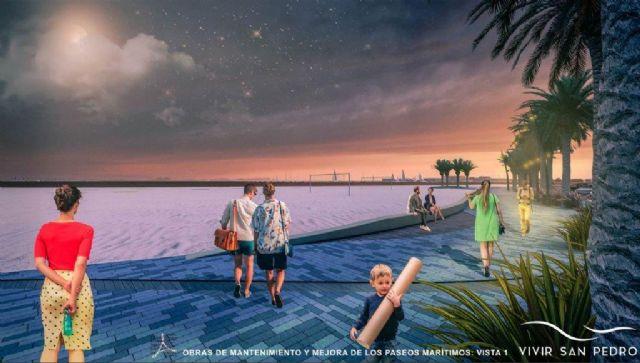 Comienzan la obras de renovación de los paseos marítimos de Villananitos y La Puntica - 2, Foto 2