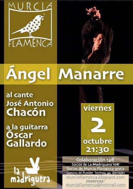 Ángel Manarre en Murcia Flamenca - 1, Foto 1