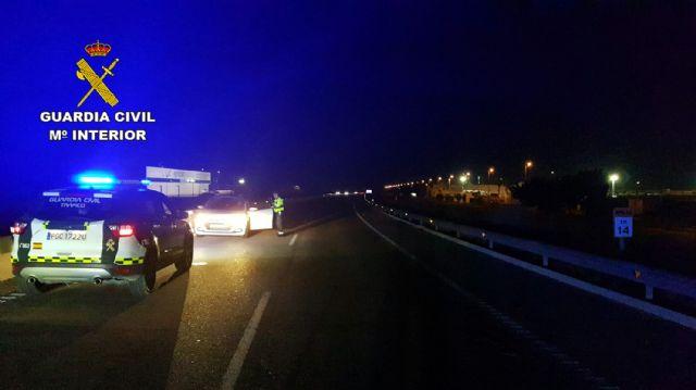 La Guardia Civil intercepta al conductor de turismo que circulaba en sentido contrario por la autovía RM-19 - 1, Foto 1