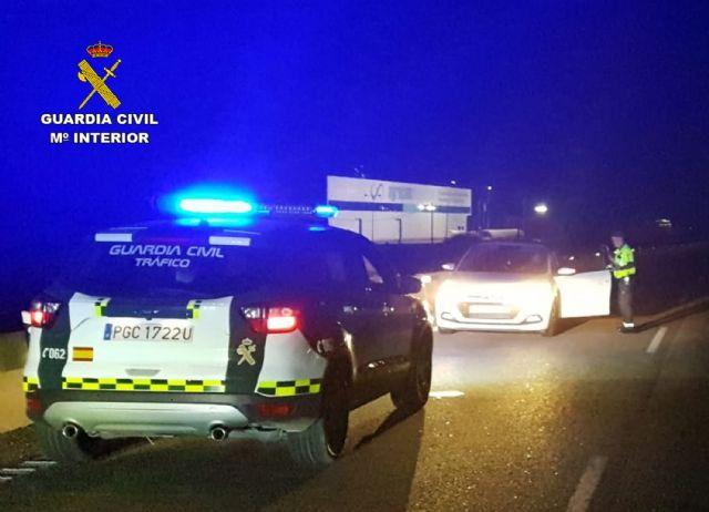 La Guardia Civil intercepta al conductor de turismo que circulaba en sentido contrario por la autovía RM-19 - 2, Foto 2