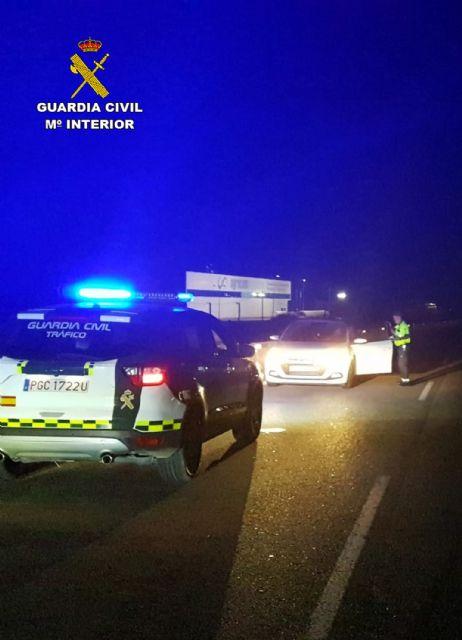 La Guardia Civil intercepta al conductor de turismo que circulaba en sentido contrario por la autovía RM-19 - 3, Foto 3
