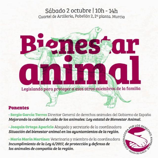 Sergio García Torres, director general de Derechos Animales, participará mañana en una charla en el Cuartel de Artillería de Murcia - 1, Foto 1