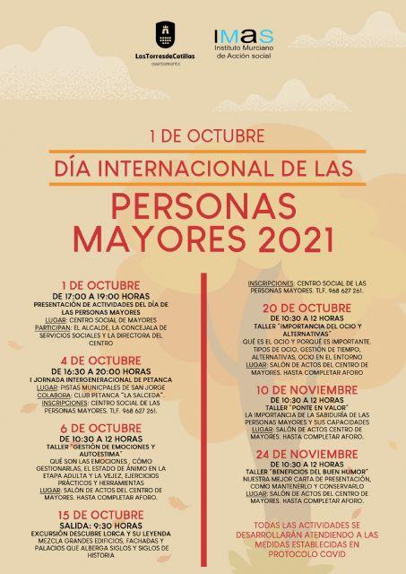 Las Torres de Cotillas celebra el Día de las Personas Mayores y propone diversas actividades - 5, Foto 5