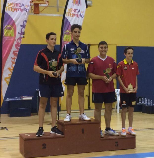 Cuatro podium para el Club Totana TM en el torneo zonal de Mérida, Foto 3