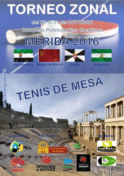 Cuatro podium para el Club Totana TM en el torneo zonal de M�rida, Foto 7