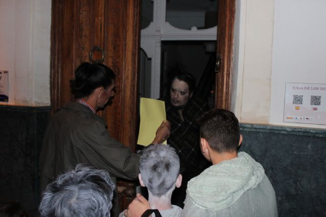 Puerto Lumbreras celebra Halloween con visitas a la mansión del terror y las cuevas encantadas - 1, Foto 1
