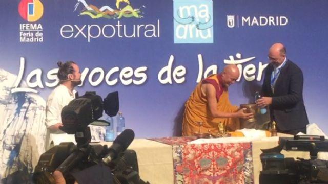 Sierra Espuña estuvo presente en la ceremonia de inicio de Expotural aportando aguas del río Espuña, Foto 4