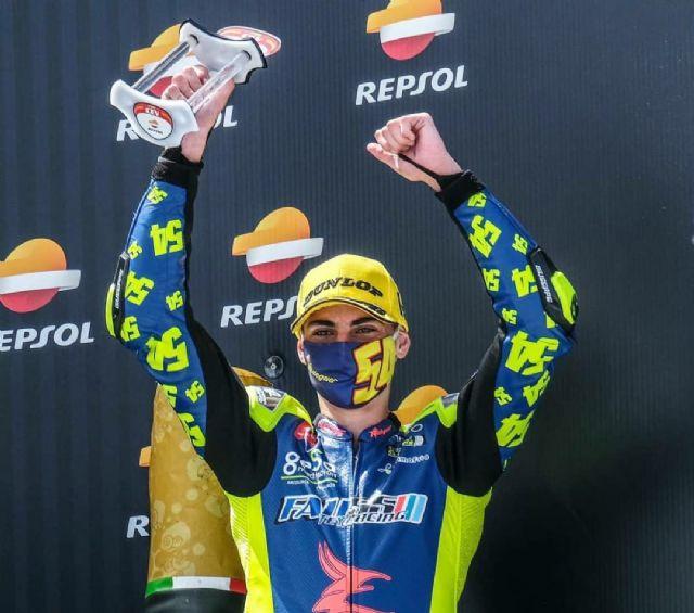 Fermín Aldeguer se proclama campeón de Europa STK 600 de Moto2 con solo 15 años - 2, Foto 2