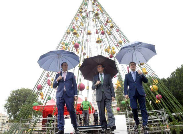 Murcia se llenará de luz a partir del próximo sábado con 9 árboles de Navidad distribuidos por las principales plazas - 1, Foto 1