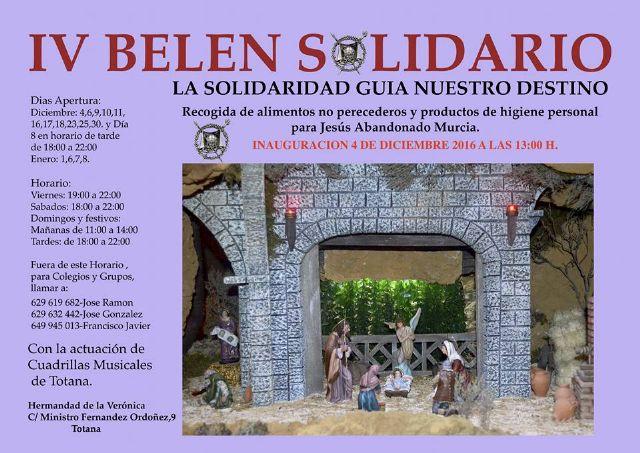 Este próximo domingo 4 de diciembre se inaugurará el Belén de la Hermandad de la Verónica, Foto 1