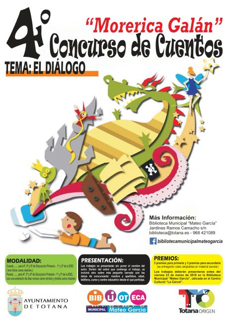 "The Municipal Library ""Mateo García"" organizes the IV Literary Contest ""Morerica Galán"" - 2"