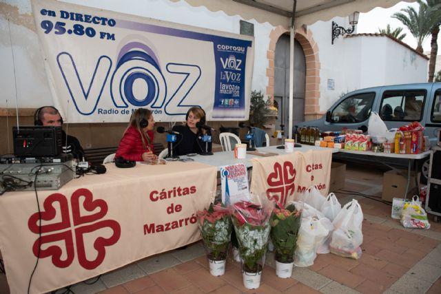 El maratón de radio recauda 1.000 euros a beneficio de Cáritas, Foto 1