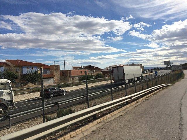 Librilla pide al Delegado del Gobierno que reclame ante el Ministerio de Fomento la colocación de las barreras acústica en el tramo de la A7, tal y como contempla el Proyecto del Tercer Carril - 1, Foto 1