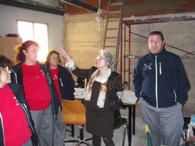 Un programa integrado por desempleados está reformando el antiguo Lavadero municipal para convertirlo en un Centro de interpretación de la Sima de la Higuera - 1, Foto 1